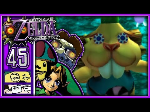 Moggy & Jonny lieben The Legend Of Zelda: Majoras Mask! - [Biber Brüder] #45
