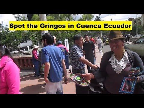Can You Spot the Gringos in Cuenca Ecuador? Tourism VLOG