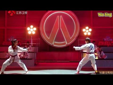 Lin-Qiu-Nan VS. WenZhi - Taekwondo Fight