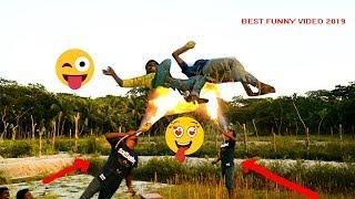 Must Watch Funny Videos😂😂New Comedy Videos 2019_Non Stop Village Fun || Episode 11_Bangla Funny Vine