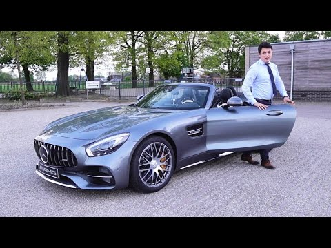 new 2018 mercedes amg gt c roadster brutal drive review