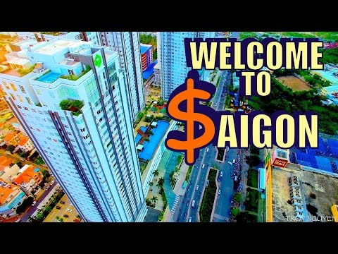 Where rich people live in Saigon. District 7.