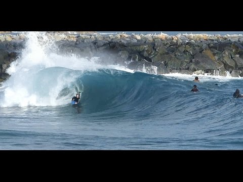 Newport Beach, CA, Wedge Surf 5-8ft, 8/22/2014 - (1080p@60) - Part 1
