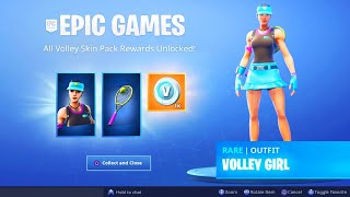 The New VOLLEY GIRL PACK in Fortnite..
