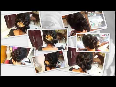 Funky hairstyle for short hair...Quick and Easy !!