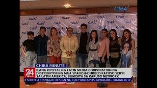 Ilang opisyal ng Latin media corporation, bumisita sa Kapuso Network