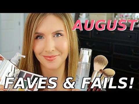 August Favorites 2019   Beauty Must Haves, Lifestyle Faves + A BIG FAIL!