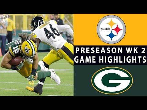 Steelers vs. Packers Highlights | NFL 2018 Preseason Week 2
