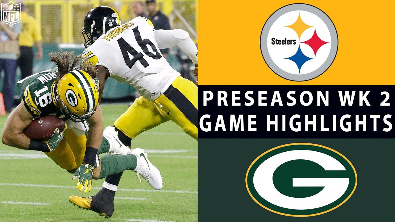 5d47601a302 Steelers vs. Packers Highlights