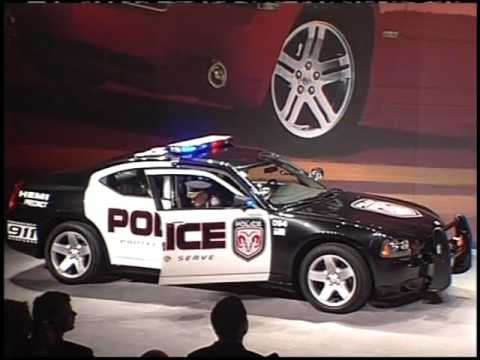 Dodge Charger Srt8 Police Car 2005