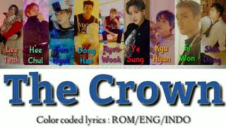 Super Junior - The Crown |ColorCodedLyrics| Rom/Eng/Indo