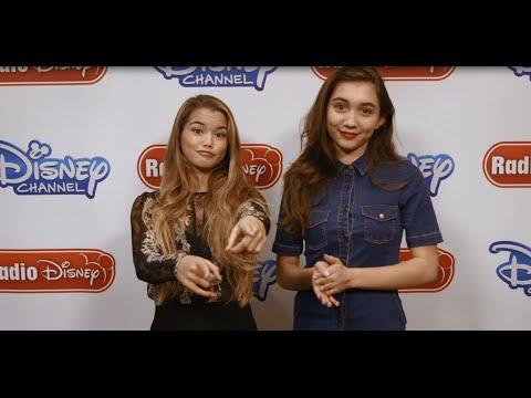 Download Rowan Blanchard and Paris Berelc Invisible Sister | Radio Disney