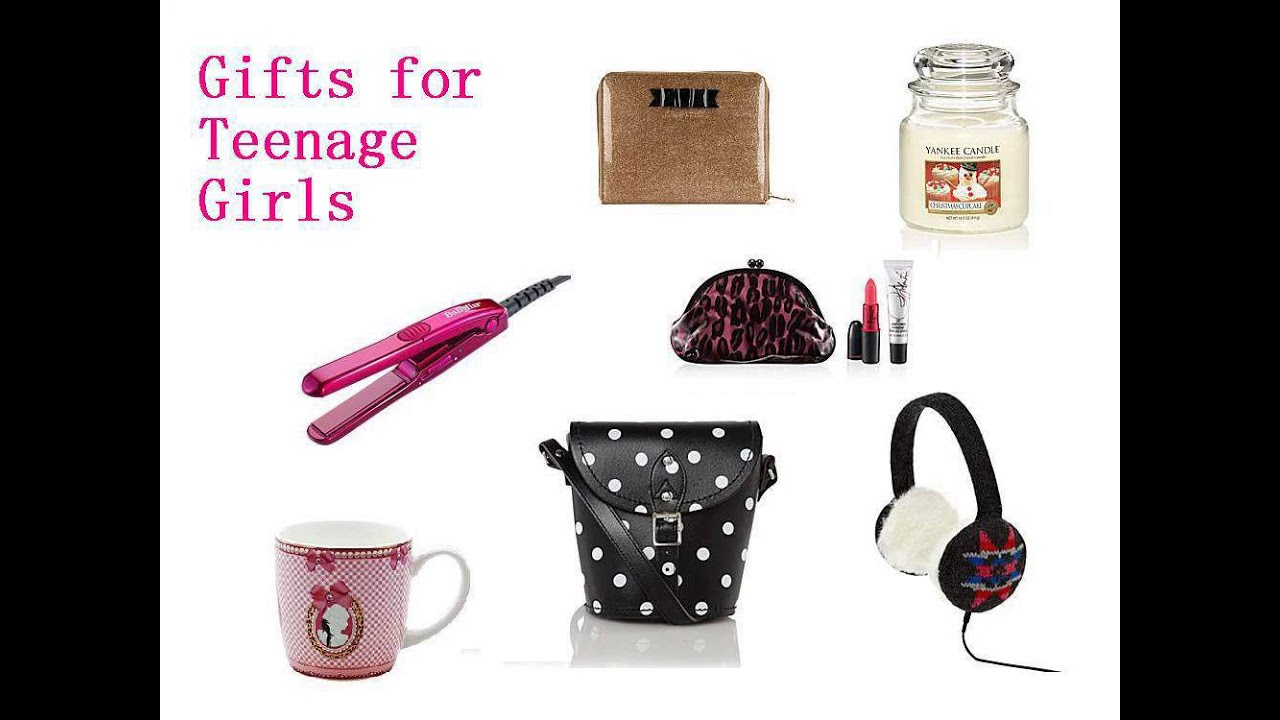 good christmas gift ideas for teenage girls - YouTube