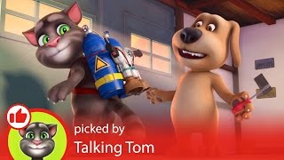 Talking Tom - Learning the Cool Way with the YouTube Kids App!