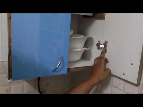 DIY woodworking India - Cabinet hinges - half close and full close - how to fit hinges - part 2