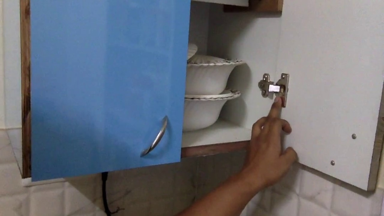 DIY woodworking India - Cabinet hinges - half close and full close ...