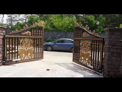 Electric Swing Garage Gate Opener Leader Tianan Automatic Door