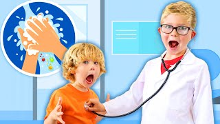Kids Pretend Play with Doctor Kids Toys | Videos for Children