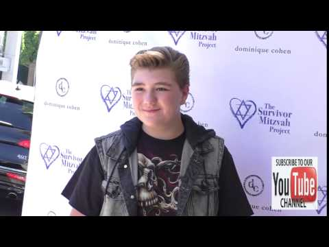 Zachary Alexander Rice at the Stars Shine For Survivors in Beverly Hills