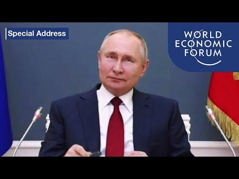 Special Address by Vladimir Putin, President of the Russian Federation | DAVOS AGENDA 2021