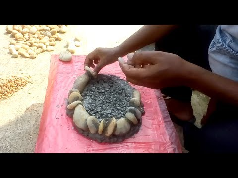 How to make bonsai pot by using gravel stone