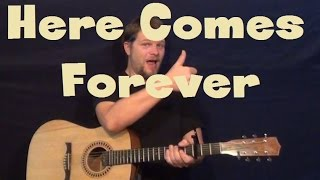 here comes forever r5 ross lynch easy guitar lesson how to play tutorial