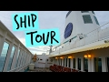 MV World Odyssey Ship Tour!