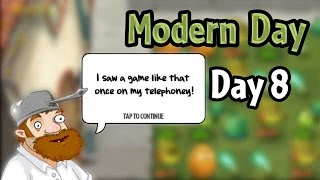 plants vs zombies 2 modern day day 8 beghouled