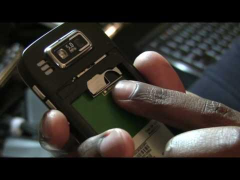 Nokia E72 unboxing