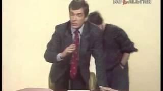 Утренняя Почта 1989 год  ( бардак в прямом эфире   )