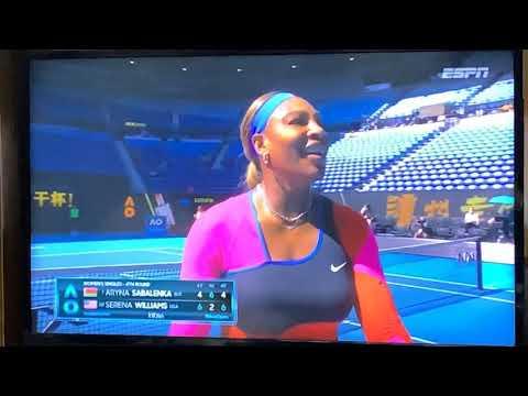 Serena Williams Over Aryna Sabalenka 4-6,6-2,4-6 In Australian Open 2021