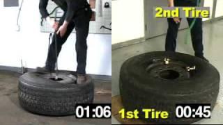 Ken-Tool:  Super Single Truck Tire Mount / Dismount Using Super Serpent™ Tire Tools