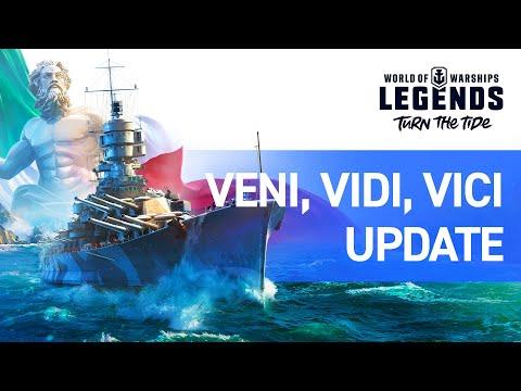 World Of Warships: Legends – Veni, Vidi, Vici Update