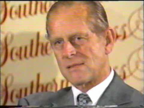 Prince Philip agitated by reporters