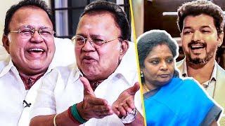 இவங்க பேசுனாவே காமெடிதான்:  Radha Ravi Trolls Tamilisai & Jayakumar For Sarkar Issue | Interview
