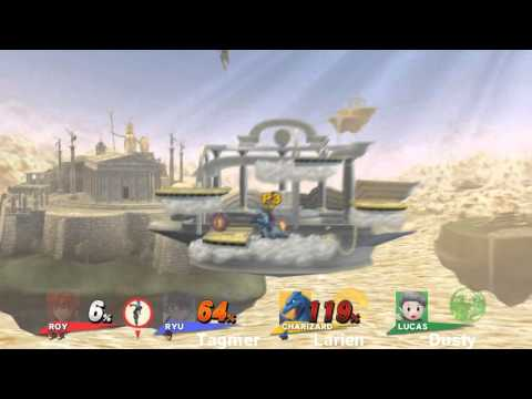 Super Smash Bros U Highlights 7 - Significant Amounts of Roy