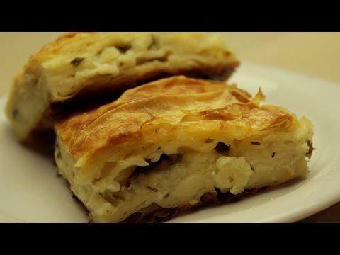 Turkish Water Borek- Delicious Cheese Borek Recipe