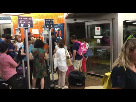Greyhound Bus Leaves Customers Stranded At Port Authority