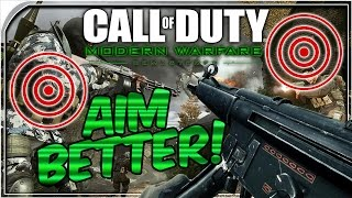 HOW TO AIM BETTER IN MODERN WARFARE REMASTERED: HOW TO INCREASE ACCURACY MWR