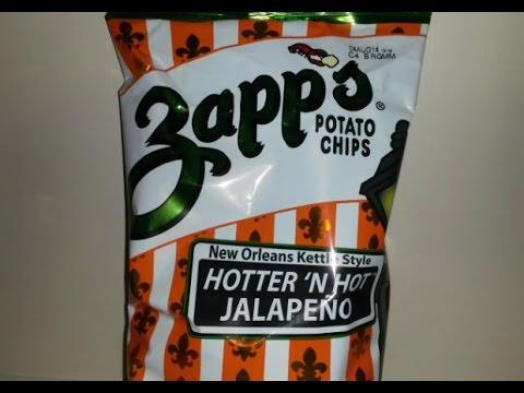 Zapp's Hotter than Hot Jalapeño Kettle Chips | Spicochist Reviews