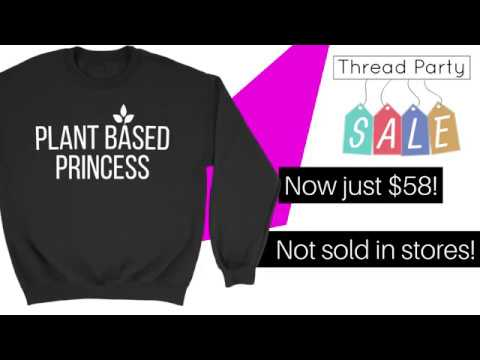 Plant Powered Princess Collection - On Sale Now (Vegan Shirts)