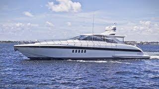 2007 80' Mangusta - Mike Burke, HMY Yacht Broker