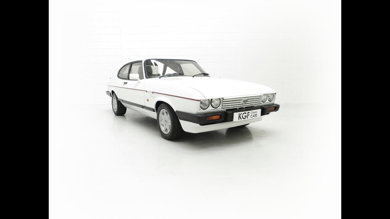 A Fabulous E Registration Ford Capri 2.8 Injection with Three Owners from New - £18,495