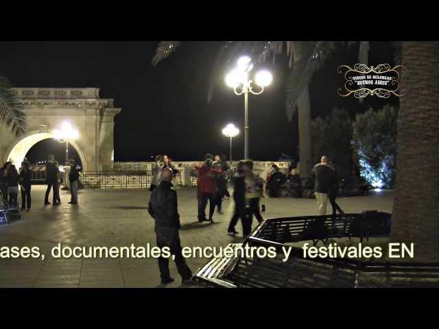 Cagliari Floshmob de tango en Cerdeña Italila