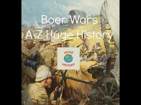 Boer Wars - A - Z - Huge History