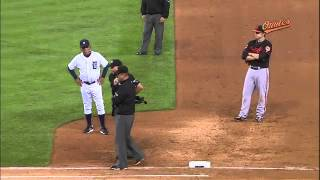 2012/08/17 Reynolds, Showalter ejected