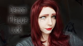 † Demon Plague Halloween Makeup †