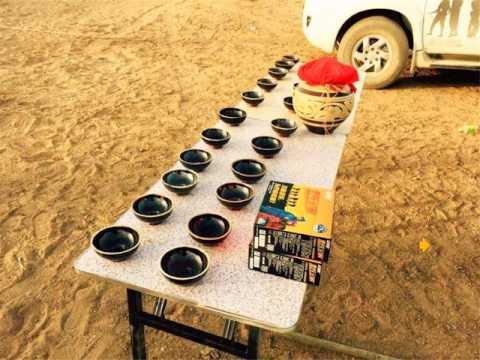 Jiuquan Mingsha Mountain Desert Camp Accommodation - Dunhuang - China
