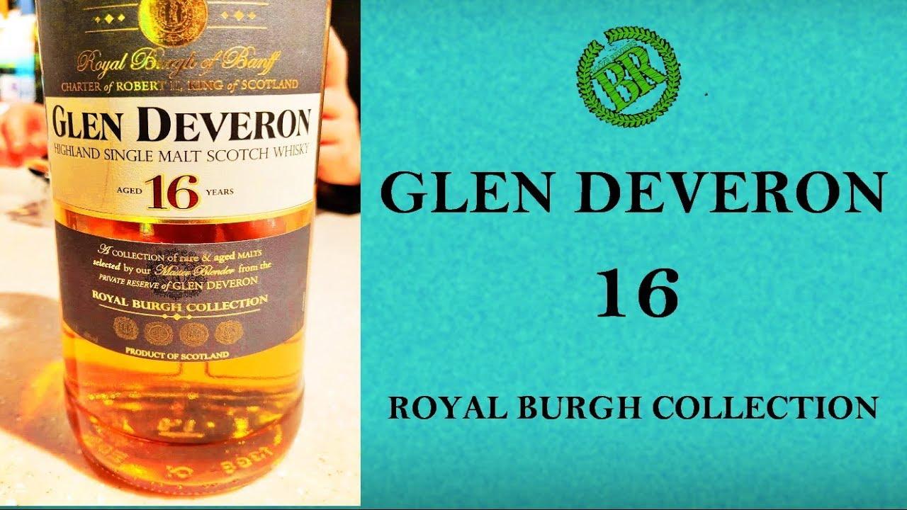 Whisky Review 070 Glen Deveron 16 Youtube