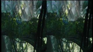 Sky 3D Avatar Movie Teaser Trailer Demo RAW HQ HD Video Format Stereoscopic Side By Side yt3d